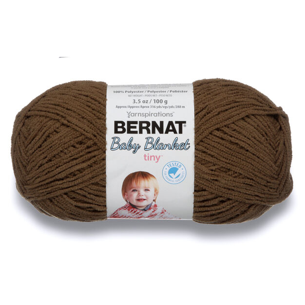 Bernat Baby Blanket Tiny Yarn Brown Bear Yarnspirations