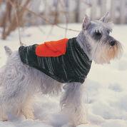 Bernat Dog Coat With Cargo Pockets , Size 4