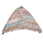 Caron Heartline Knit Wrap