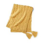 Go to Product: Red Heart Golden Waves Throw in color