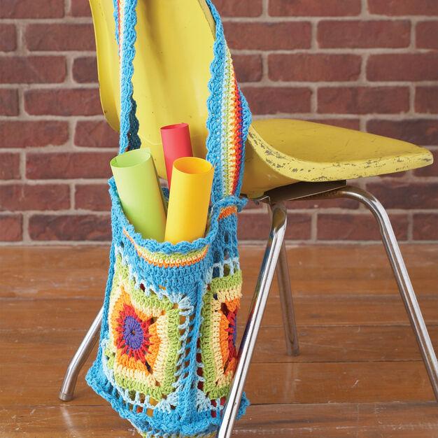 Lily Sugar'n Cream Bright Market Bag in color