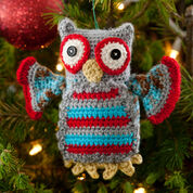 Go to Product: Red Heart Hoot Owl Ornament in color