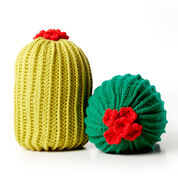 Bernat Crochet Cactus Pillow, Version 1