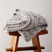 Bernat Woven Look Blanket