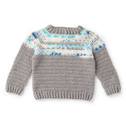 Go to Product: Red Heart Boy's Fair Isle Pullover, 2 yrs in color