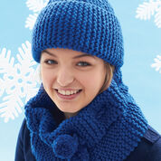 Go to Product: Bernat Cowl and Hat in color