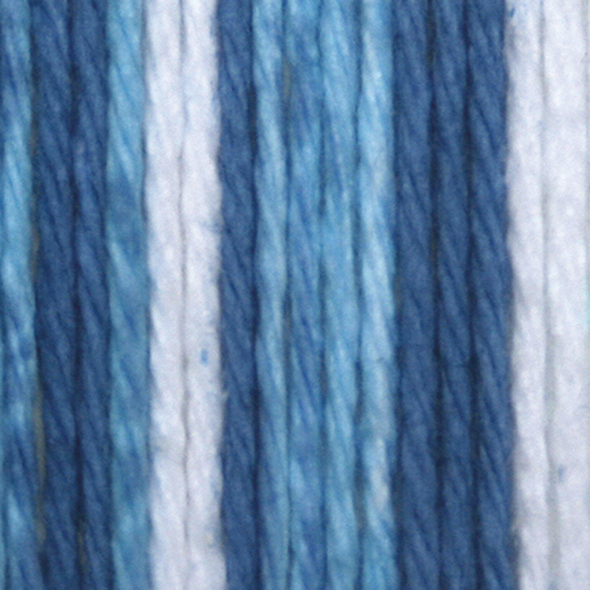 Lily Sugar and Cream Stripes Cotton Yarn Natural