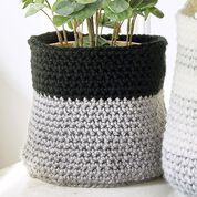 Go to Product: Stitch Club Color Block Crochet Basket + Tutorial in color