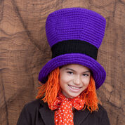 Red Heart Mad Willy Hat, S