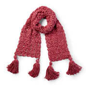 Go to Product: Bernat Pump Up the Volume Crochet Scarf in color