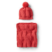 Go to Product: Red Heart Crochet Ridge Texture Hat in color