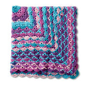 Go to Product: Caron From the Middle Crochet Blanket in color