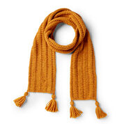 Go to Product: Patons Garter Rib Knit Scarf in color