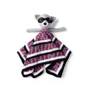 Go to Product: Red Heart Raccoon Crochet Lovey in color