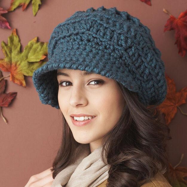 Bernat Slouchy Peaked Hat Yarnspirations