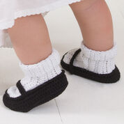 Go to Product: Aunt Lydia's Mary Jane Baby Booties in color
