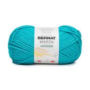 Bernat Maker Outdoor Yarn, Deep Seal Teal