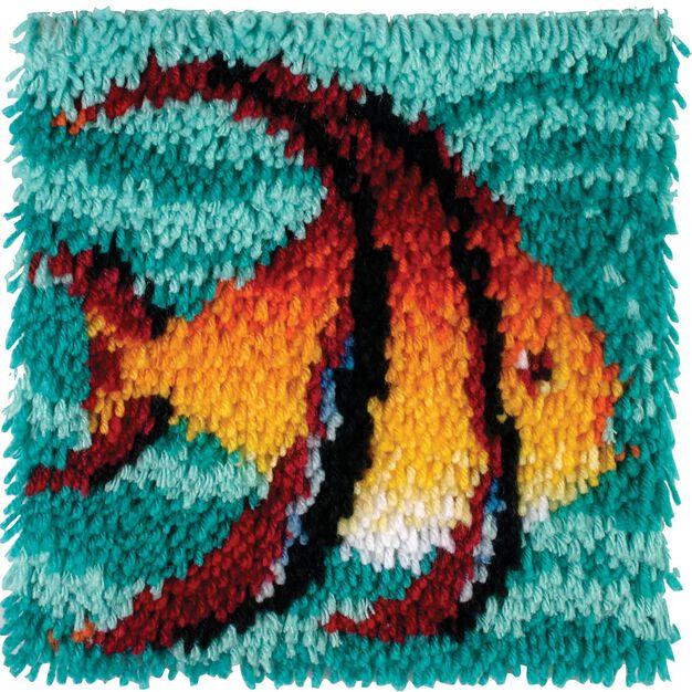 Wonderart Angel Fish Kit 12 X 12 in color Angel Fish