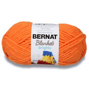 Go to Product: Bernat Blanket Brights Yarn (300g/10.5 oz) in color Carrot Orange