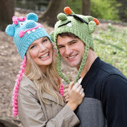 Go to Product: Red Heart Lovable Monster Hats in color