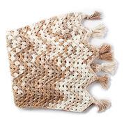 Bernat Wavy Granny Crochet Blanket