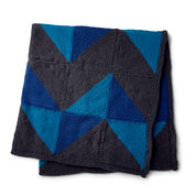 Go to Product: Caron Graphic Chevron Knit Blanket in color