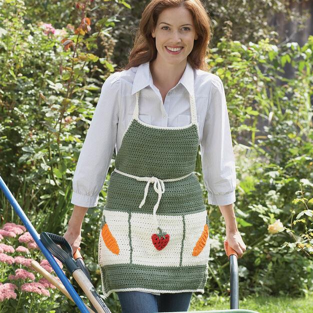 Lily Sugar'n Cream Garden Apron in color