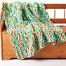 Bernat Bright Beginnings Crochet Blanket in color  Thumbnail Main Image 2}