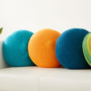 Go to Product: Caron Full Circle Pillow, Orange in color