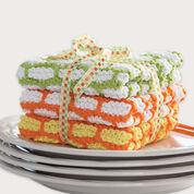 Bernat Brick Stitch Dishcloth