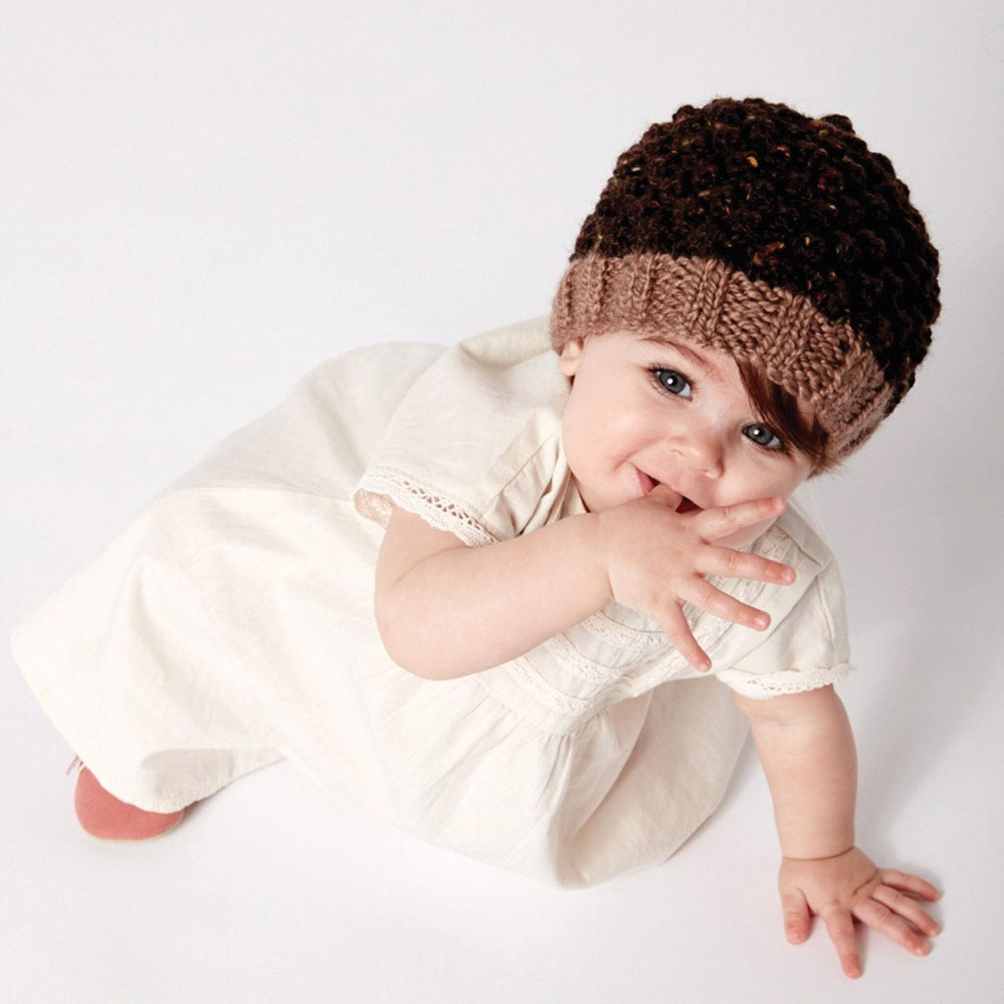 d84a2d7bd6e ... Patons Little Acorn Hat ...