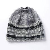 Caron Messy Bun Knit Hat