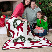 Go to Product: Red Heart Christmas Wreath Throw in color
