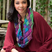 Go to Product: Red Heart Entrelac Knit Cowl in color