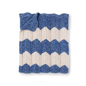 Bernat Knit Waves Blanket