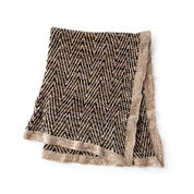 Bernat Knit Two Tone Blanket