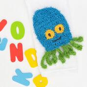 Red Heart Octopus Crochet Scrubby Mitt