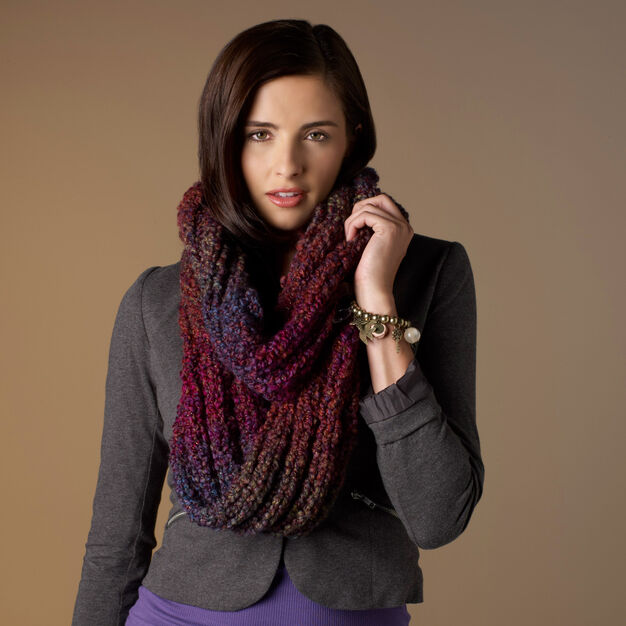 Red Heart Out of This World Cowl, 4 oz in color
