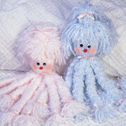Red Heart Octopus Bed Dolls