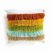Go to Product: Caron Fabulous Fringe Crochet Pillow in color