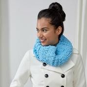Red Heart Loopy One-Ball Cowl