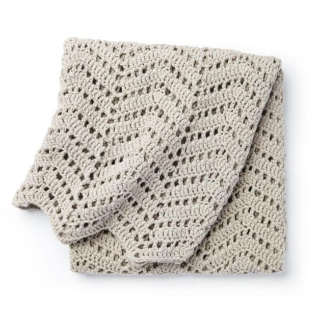 Bernat Ripples In The Sand Crochet Afghan Yarnspirations