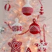 Go to Product: Red Heart Holiday Stars and Balls Ornaments in color