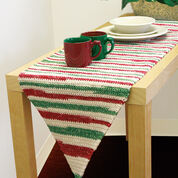 Lily Sugar'n Cream Table Runner to Crochet