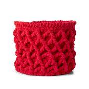 Go to Product: Bernat Trellis Crochet Basket in color