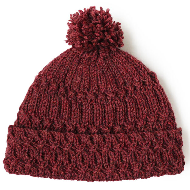 Patons Lattice Twist Hat