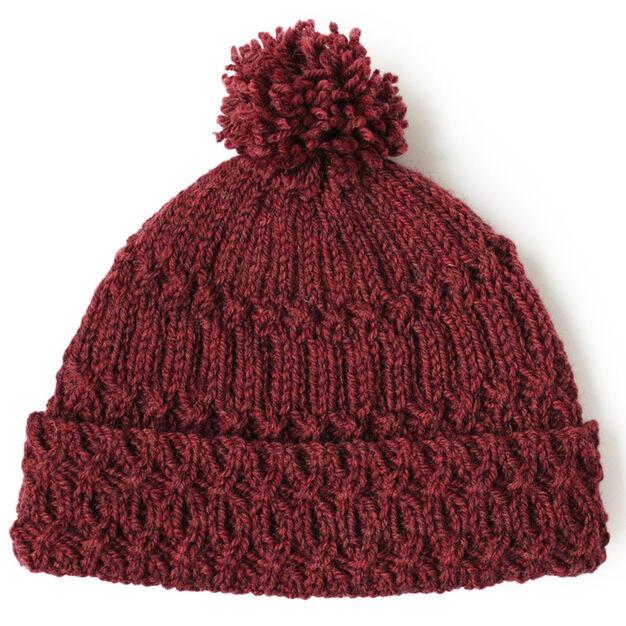Patons Lattice Twist Hat