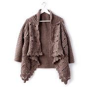 Patons Crochet Granny Cardigan, XS/S