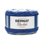 Go to Product: Bernat Blanket Stripes Yarn (300g/10.5 oz) - Clearance Shades* in color Blue Moon