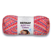 Go to Product: Bernat Softee Baby Colors Yarn, Pink Rainbow in color Pink Rainbow